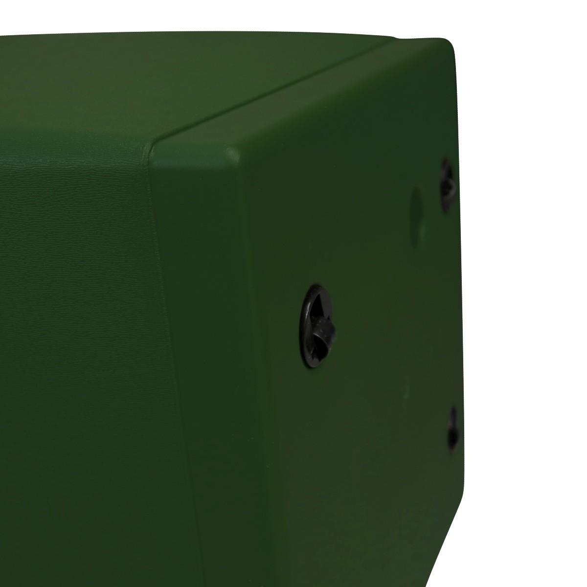 Vaso Autoirrigável Acqua Planta Quadrado Verde 49cm x 49cm