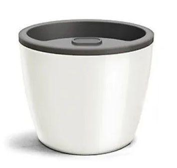 Vaso Autoirrigável Elegance 03,5 Branco