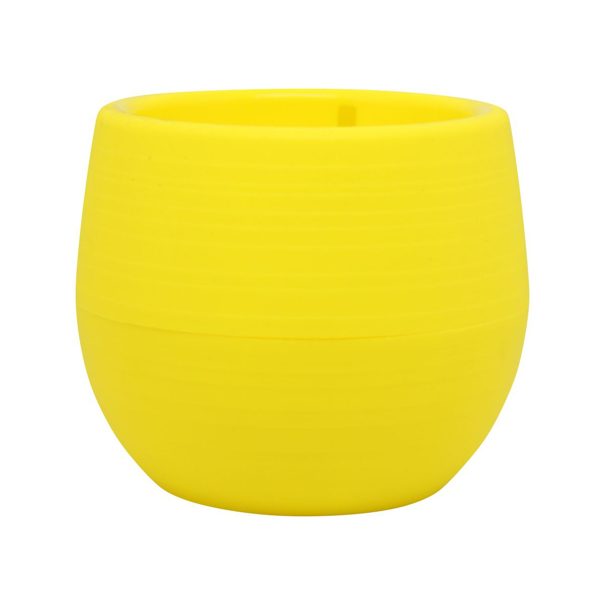 Vaso Babyball Amarelo 7cm x 7cm