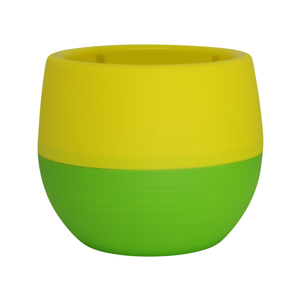Vaso Babyball Verde 7cm x 7cm
