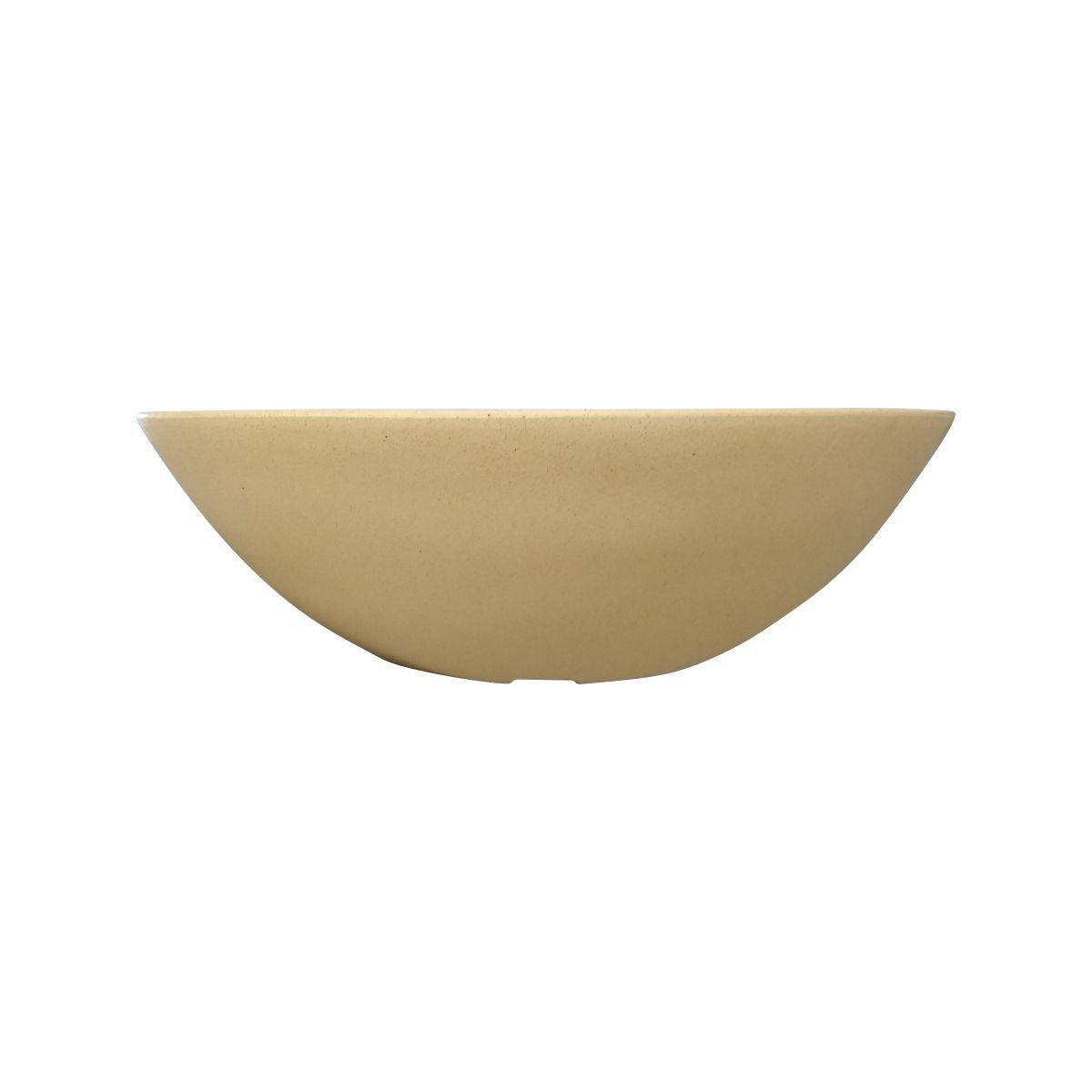 Vaso Bacia Médio cor Areia Claro 17cm x 52cm - 6725