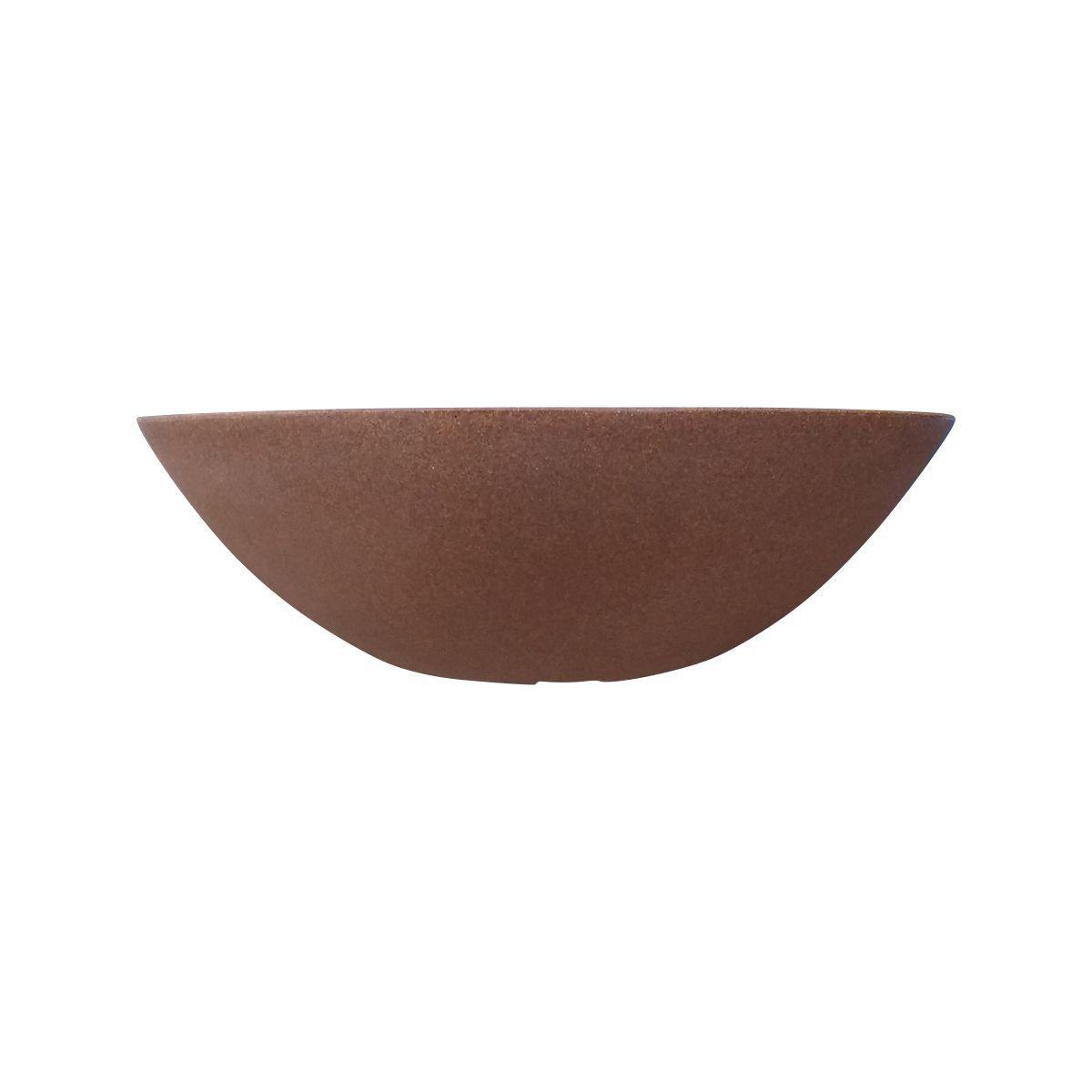 Vaso Bacia Pequeno cor Argila 12cm x 35cm - 6694