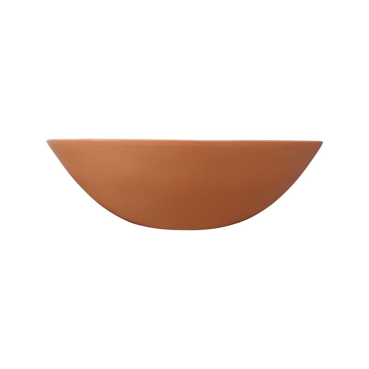 Vaso Bacia Pequeno cor Terracota 12cm x 35cm - 6705