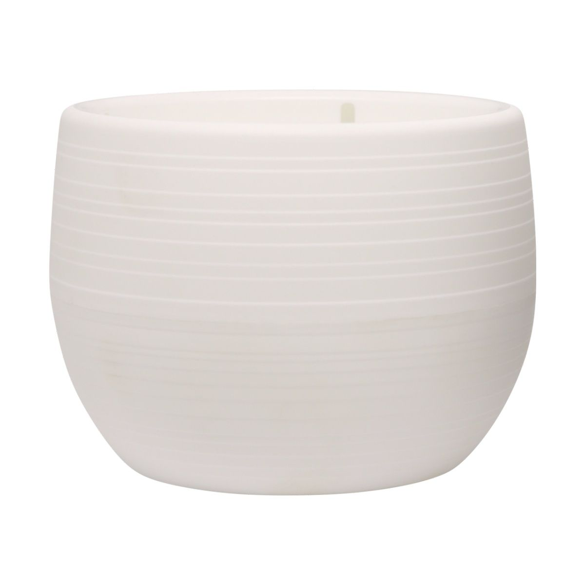Vaso Bigball Branco 10cm x 12cm - VBG2