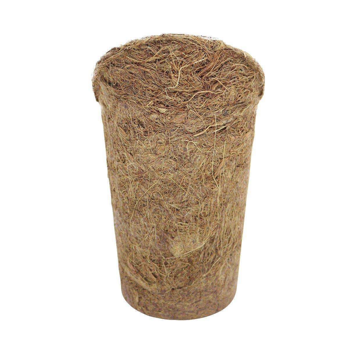 Vaso Cone de Fibra de Coco Nutricoco Pequeno 21cm x 12cm