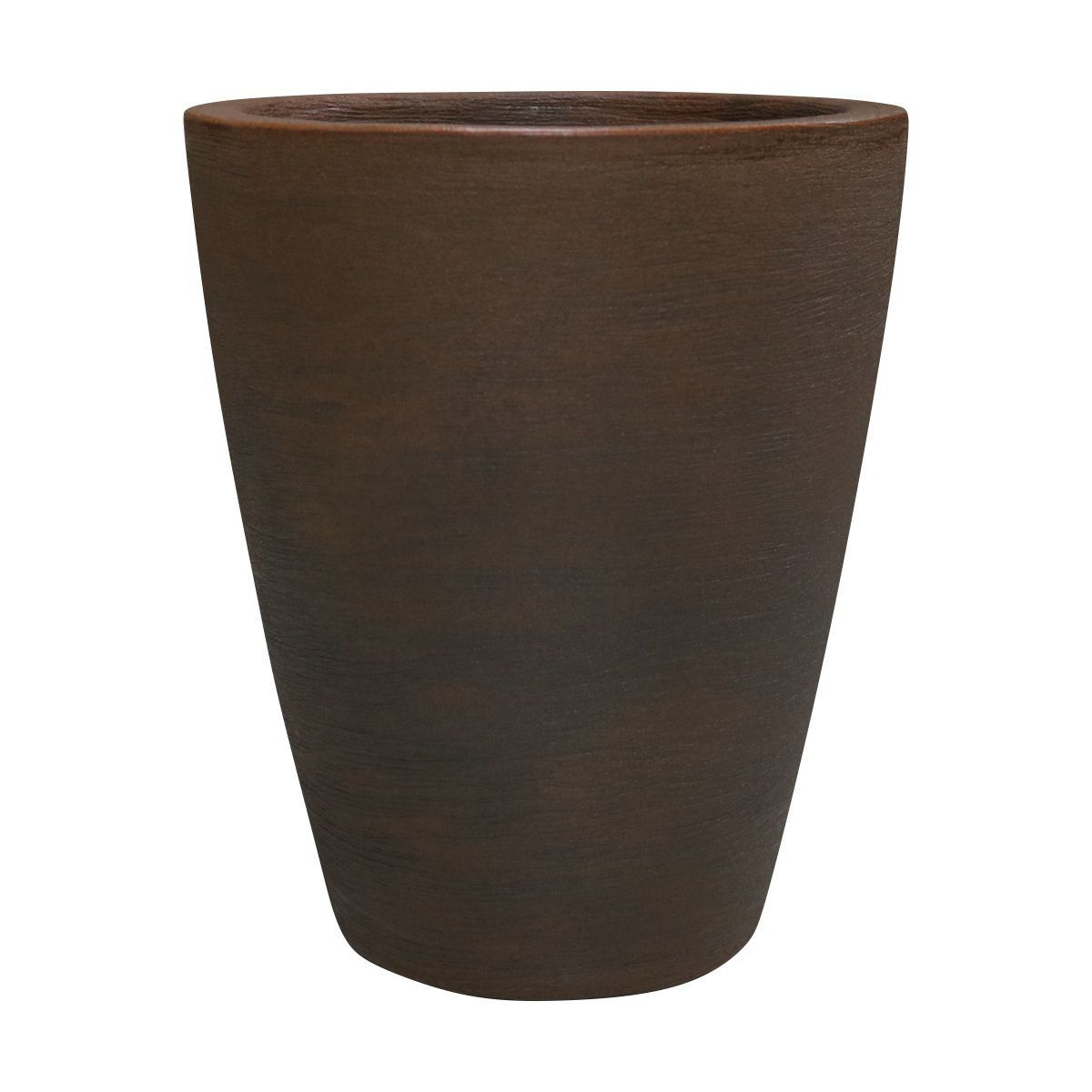 Vaso Cone Riscatto Vogue cor Ferrugem 30,5cm x 24,5cm - RCP0-FE