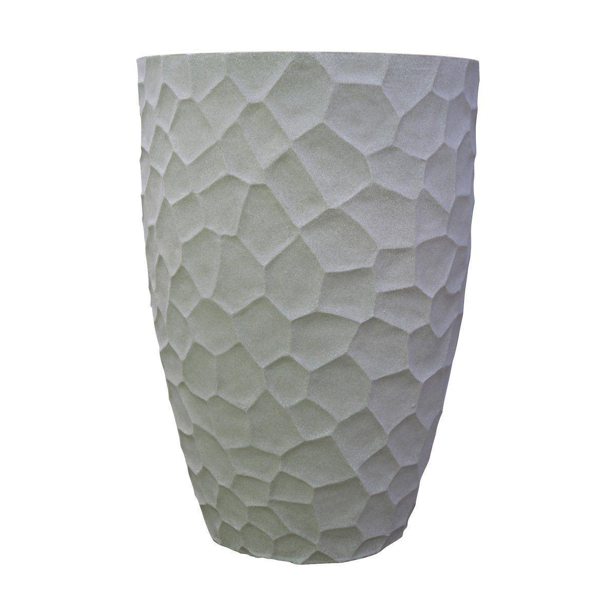 Vaso Cônico Prisma Cor Cimento 60cm x 41cm
