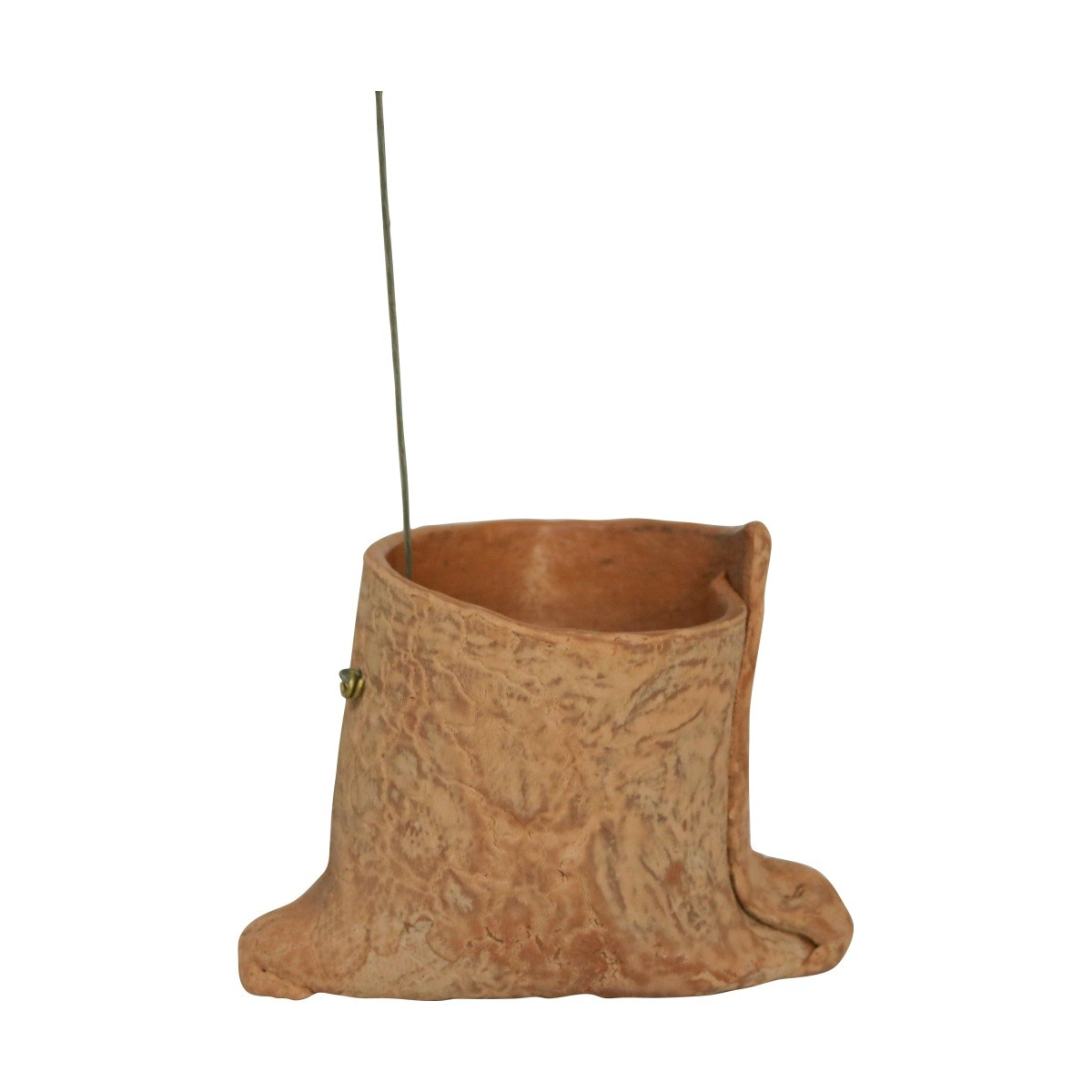 Vaso de barro Suspenso 11cm x 8,5cm Pequi 2