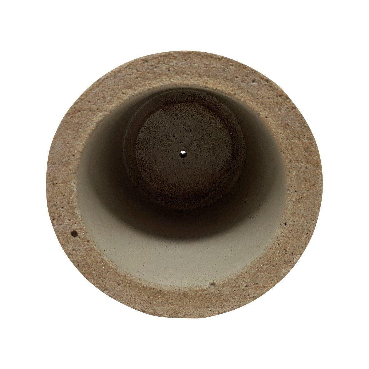 Vaso de cimento 11cm x 11,5cm MD05