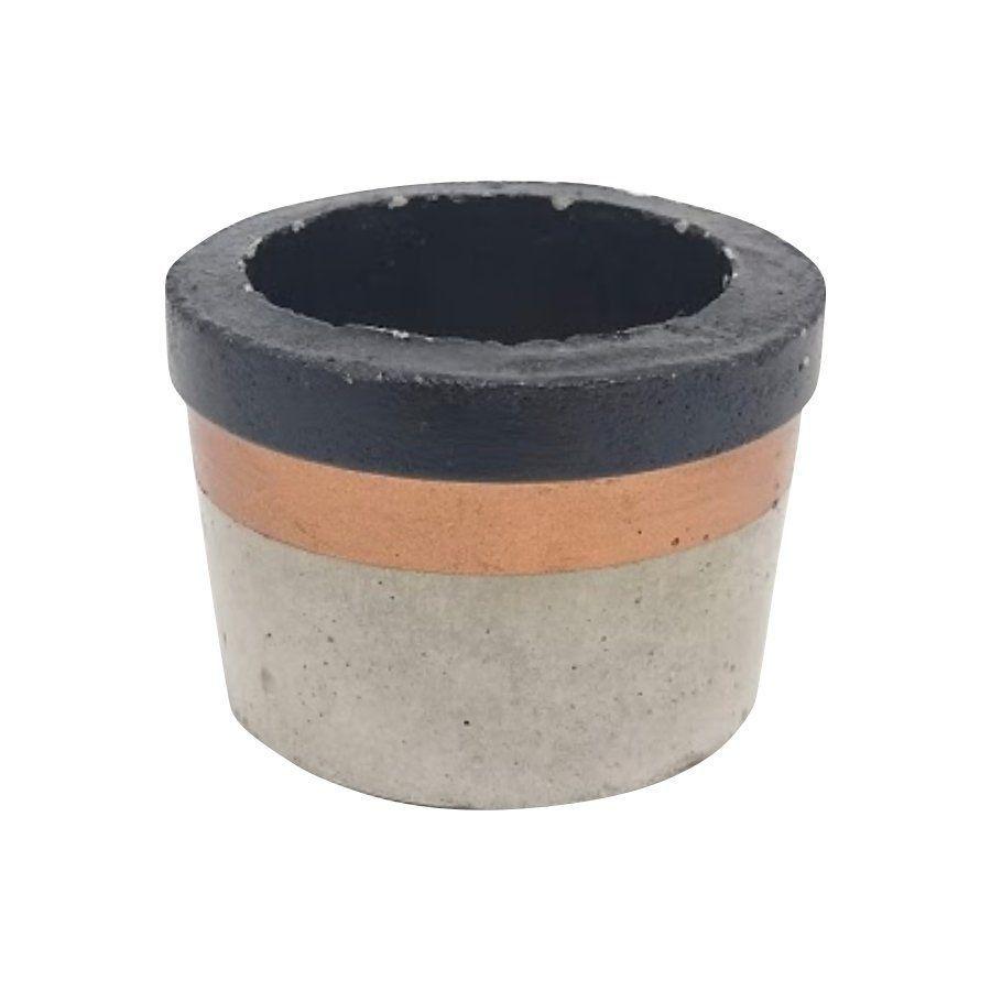 Vaso de cimento 4,5cm x 6,5cm MD17PC