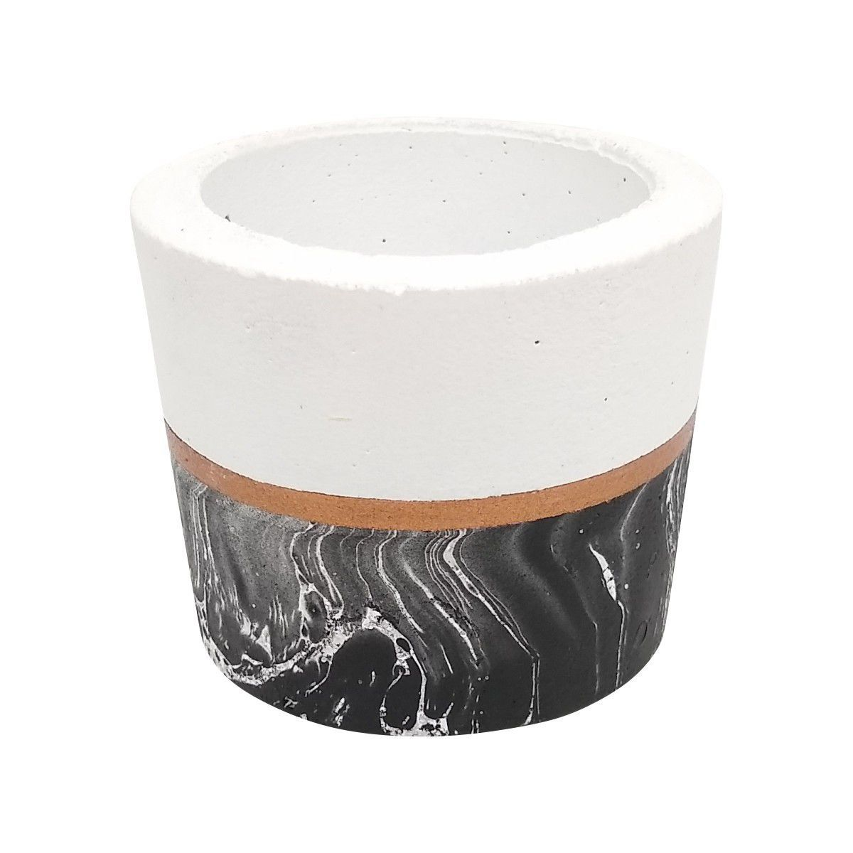 Vaso de Cimento 5,5 cm x 7 cm MD24