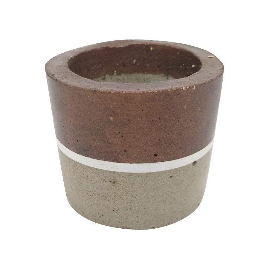 Vaso de cimento 5,5cm x 7cm MD15B2B