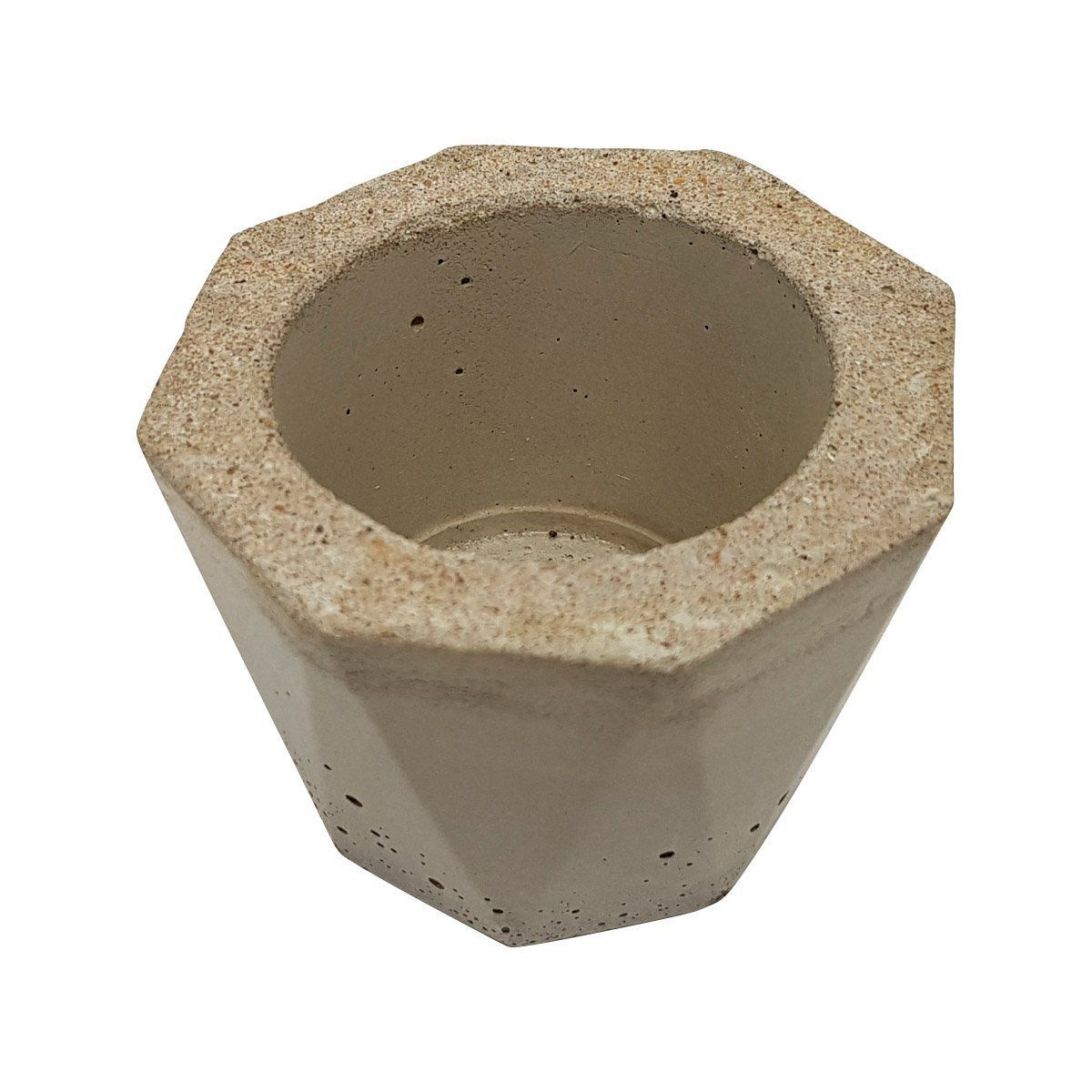 Vaso de cimento 5,5cm x 8cm MD03