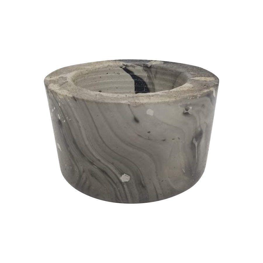 Vaso de cimento 5,5cm x 8cm MD06PWP