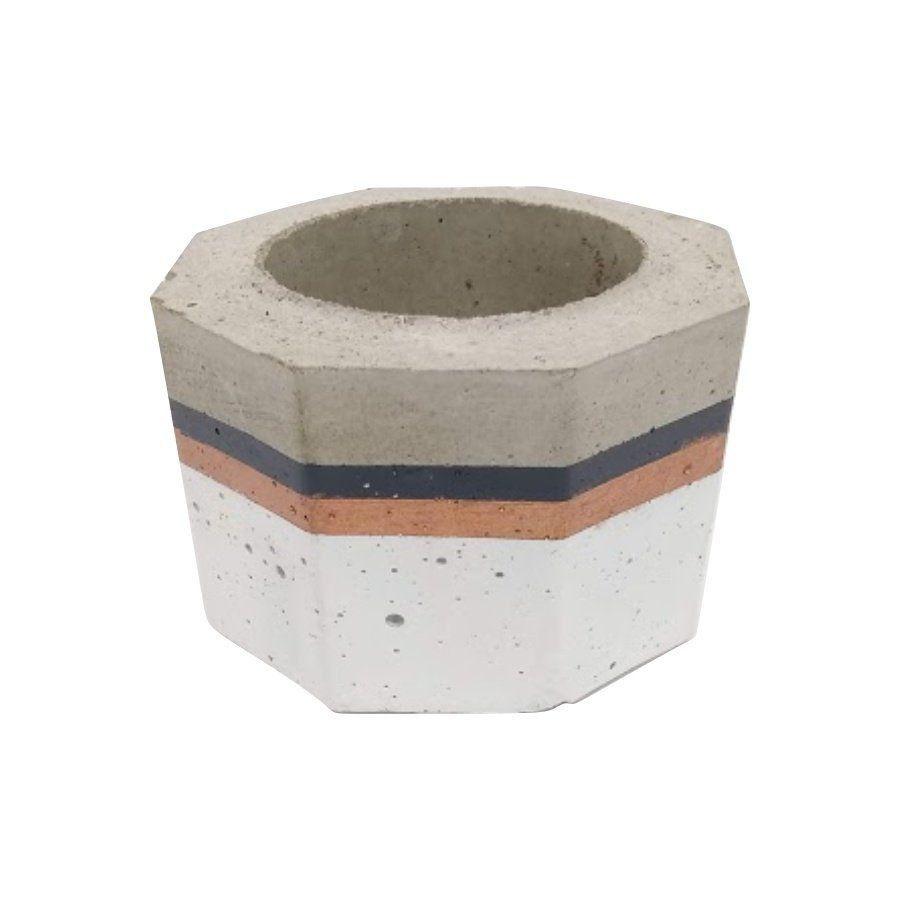 Vaso de cimento 5cm x 8cm MD13BCP