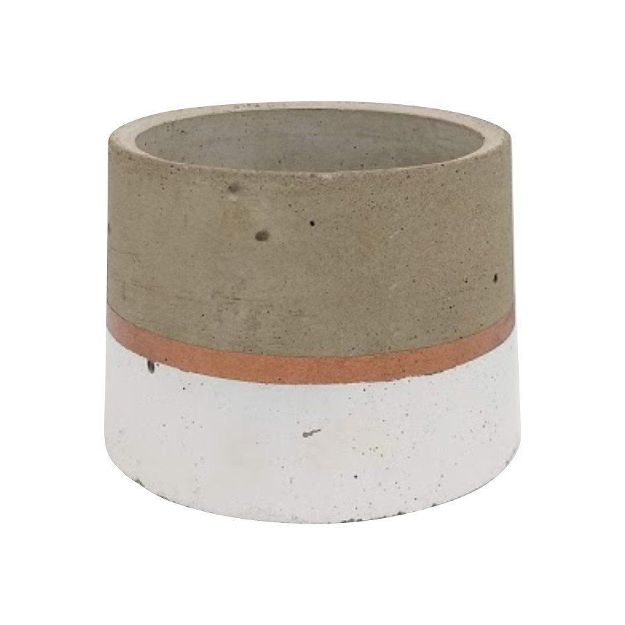 Vaso de cimento 6,5cm x 8cm MD0101BC