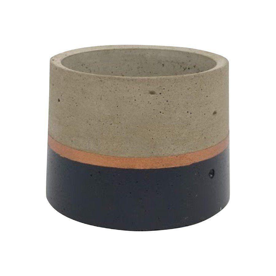 Vaso de cimento 6,5cm x 8cm MD0101PC
