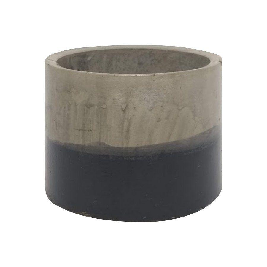 Vaso de cimento 6,5cm x 8cm MD01PIM