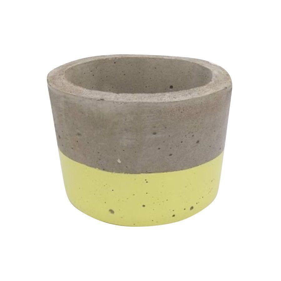 Vaso de cimento 6cm x 8,5cm MD06AM