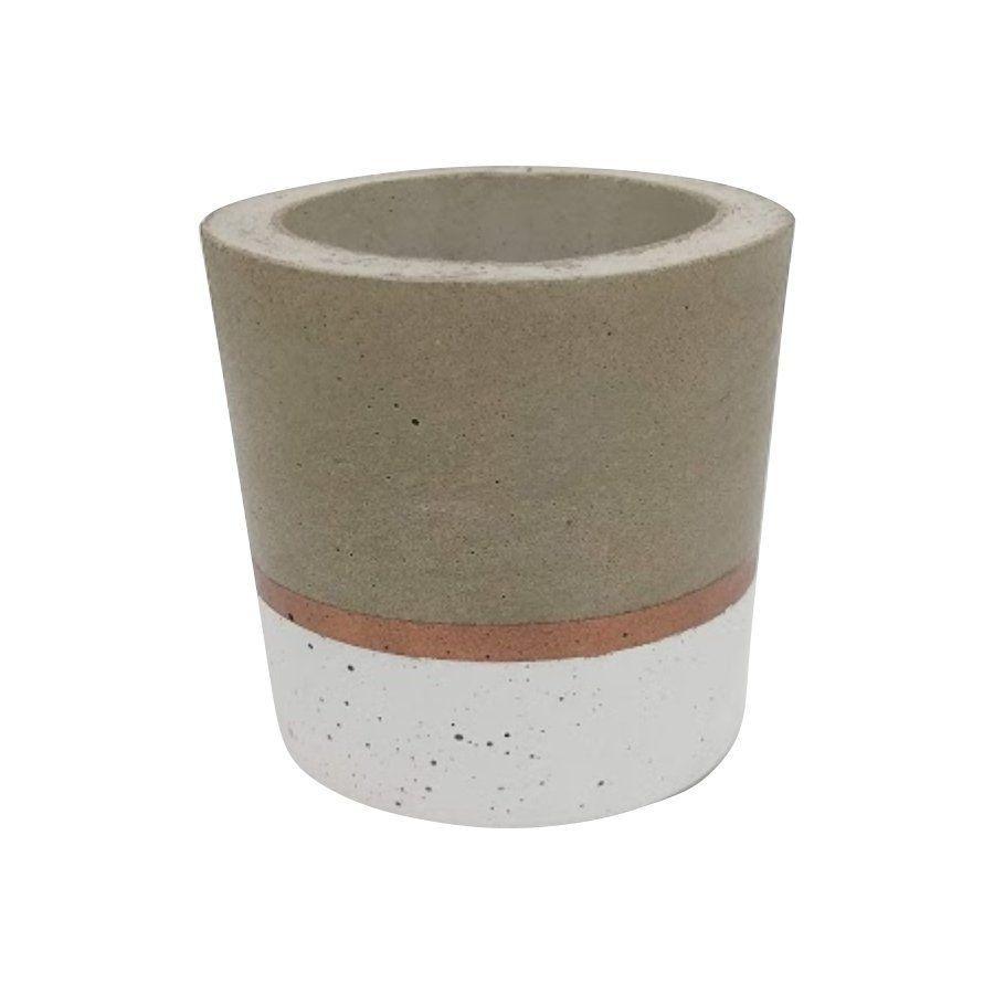 Vaso de cimento 8cm x 8,5cm MD18BC