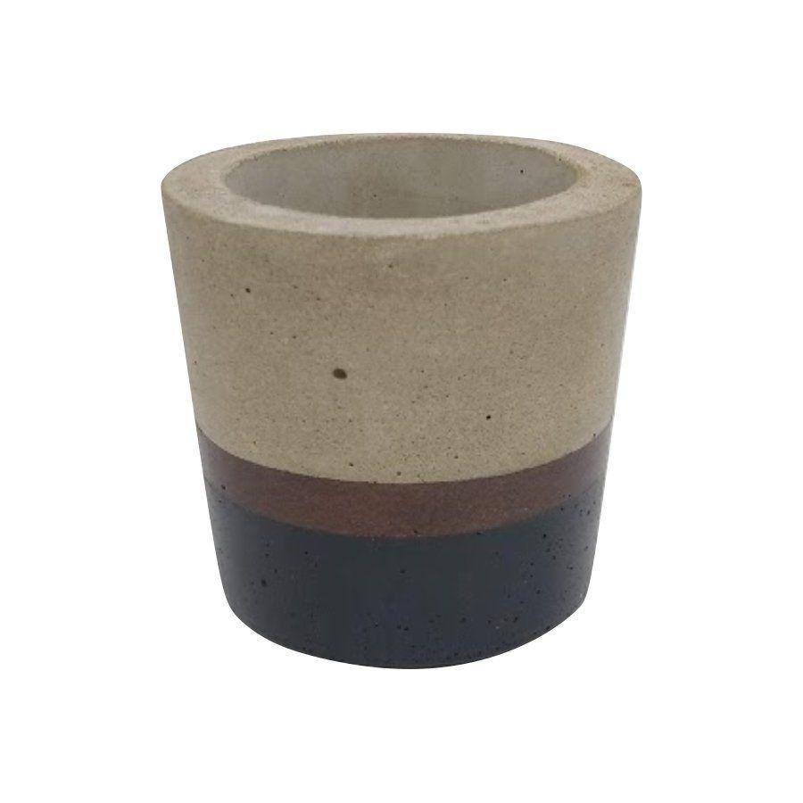 Vaso de cimento 8cm x 8,5cm MD18PB2