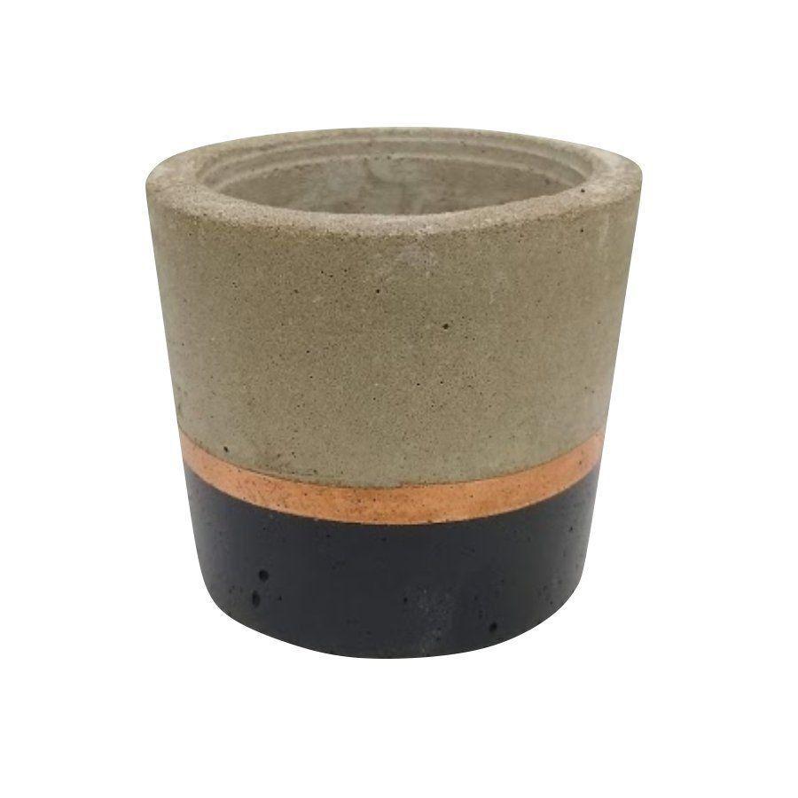 Vaso de cimento 8cm x 8,5cm MD18PC