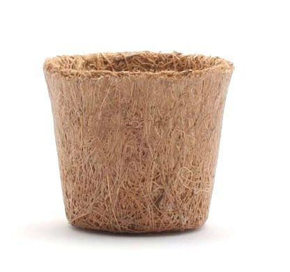 Vaso de Fibra de Coco Nº 03 6,5cm x 5,5cm COQUIM