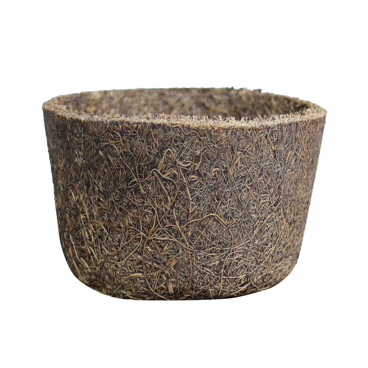 Vaso de Fibra de Coco Nº 04 10cm x 6cm COQUIM