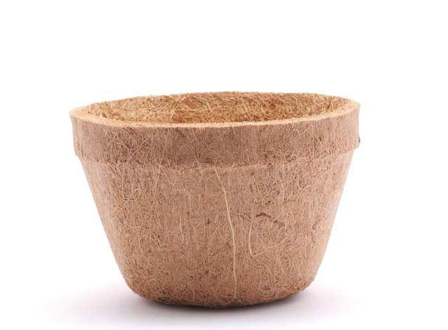 Vaso de Fibra de Coco Nº 10 17cm x 12cm COQUIM
