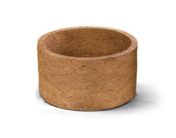 Vaso de fibra de coco Nutricoco 02 (10 cm altura x 16 diâmetro)