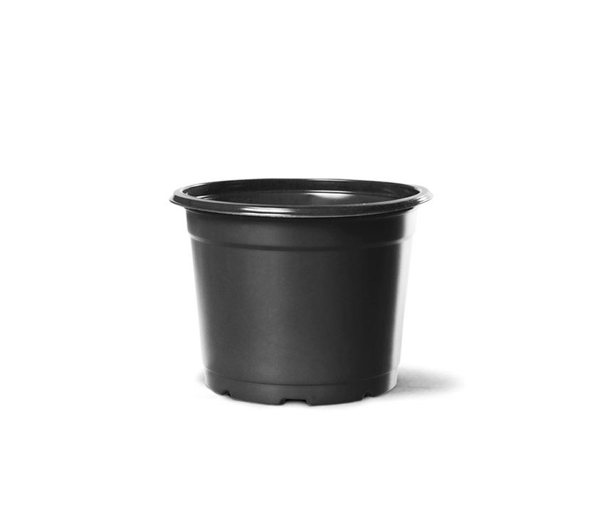 Vaso de Planta Holambra NP 13 Preto