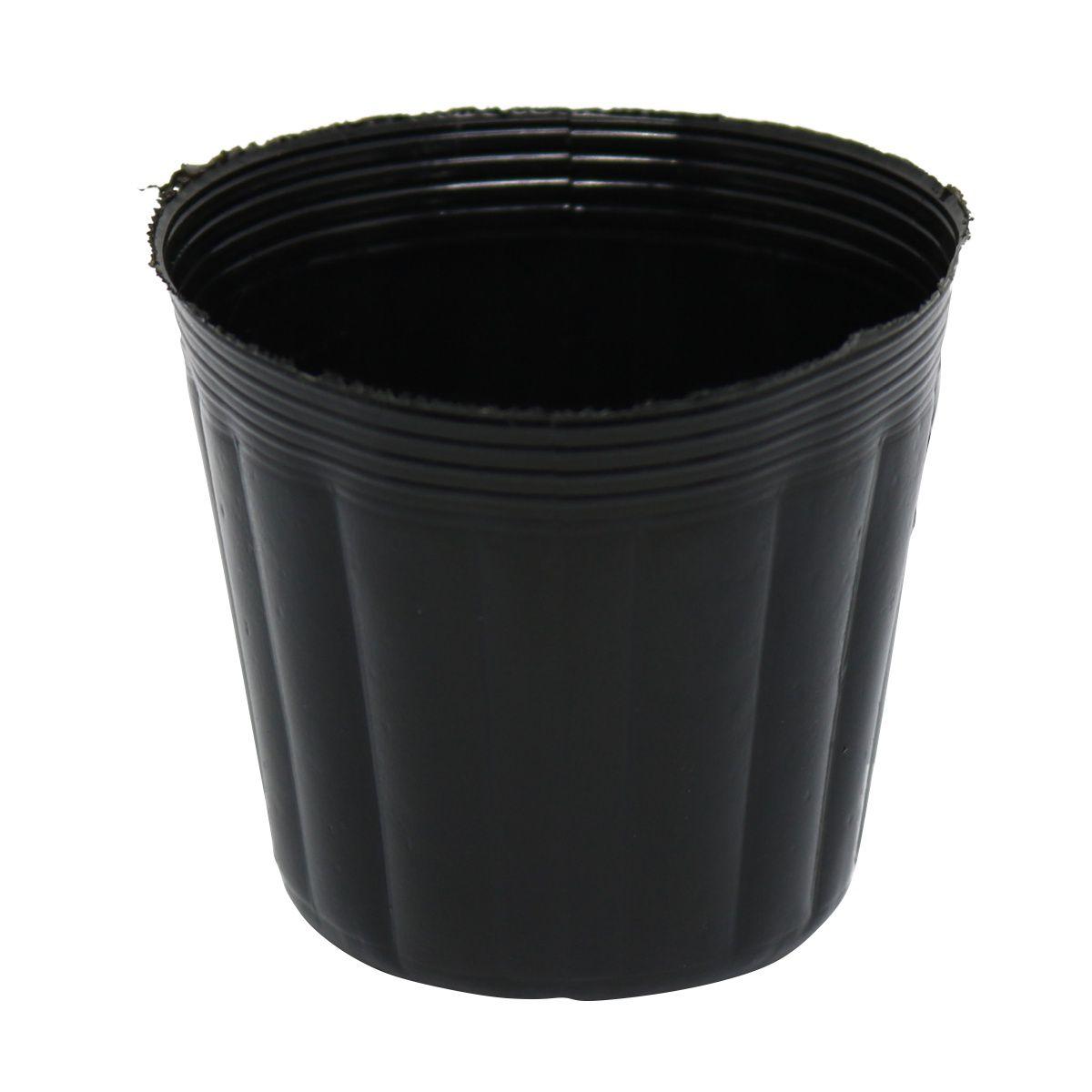 Vaso (embalagem) para muda Kit com 10 potes 150 ml