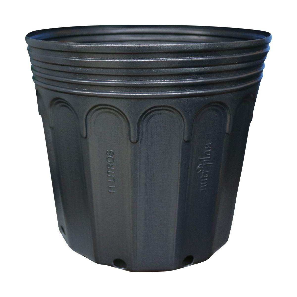 Vaso (embalagem) para muda Kit com 10 potes de 11 litros
