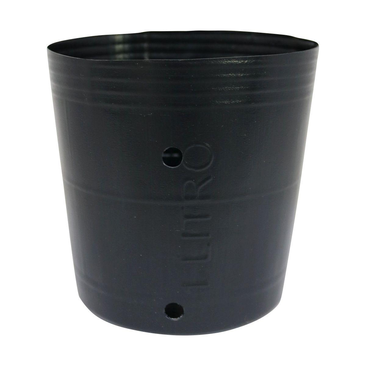 Vaso (embalagem) para mudas pote 1 litro