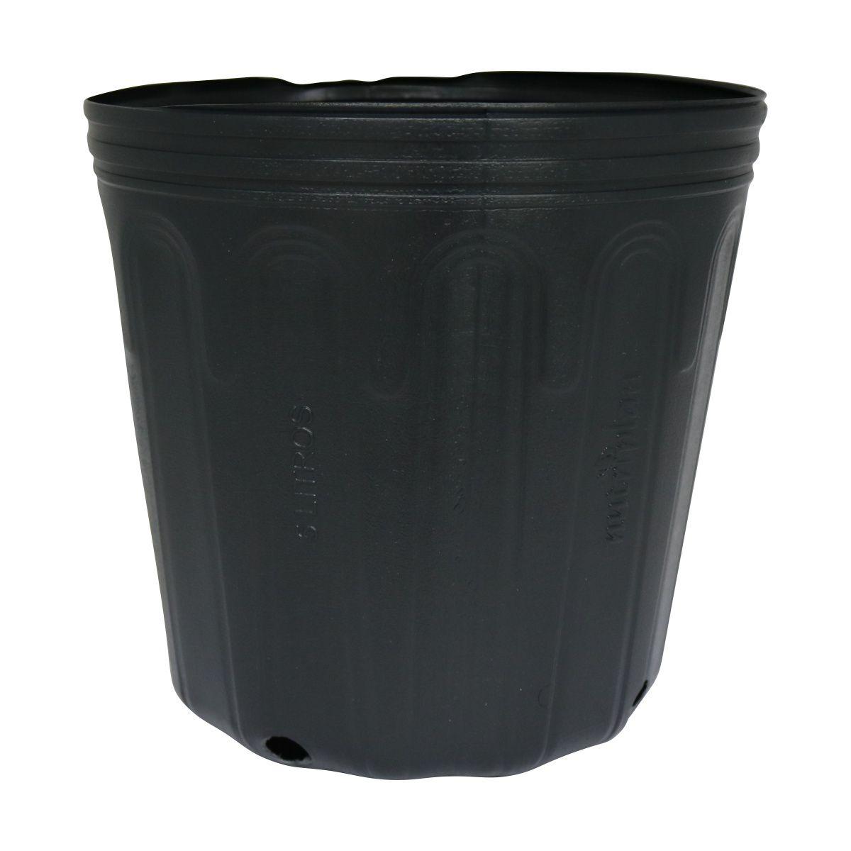 Vaso (embalagem) para mudas pote 5 litros