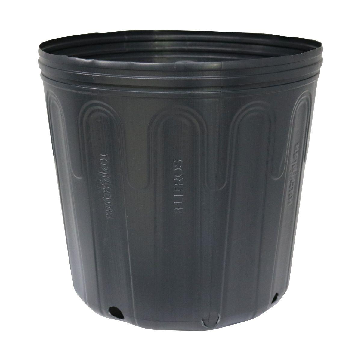 Vaso (embalagem) para muda Kit com 10 potes de 8 litros