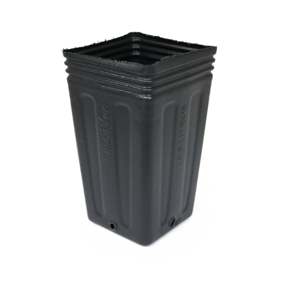 Vaso (embalagem) para mudas Kit com 10 potes de 0,8 litros