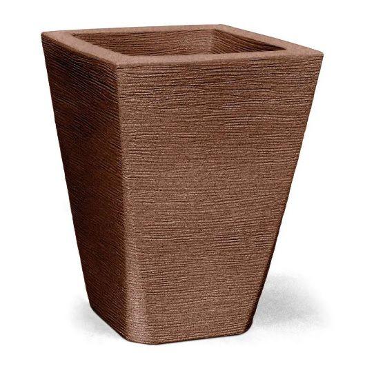 Vaso Grafiato Trapezio 50 Ferrugem 50cm x 37cm