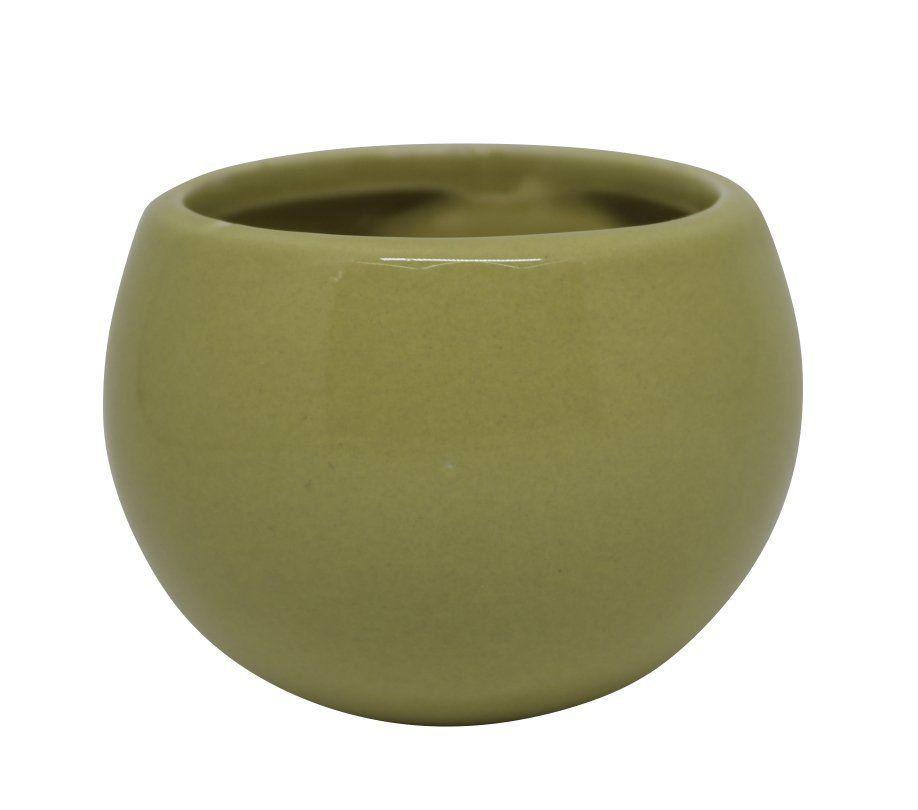 Vaso Magnético Amarelo Claro 6,5 cm x 6,5 cm
