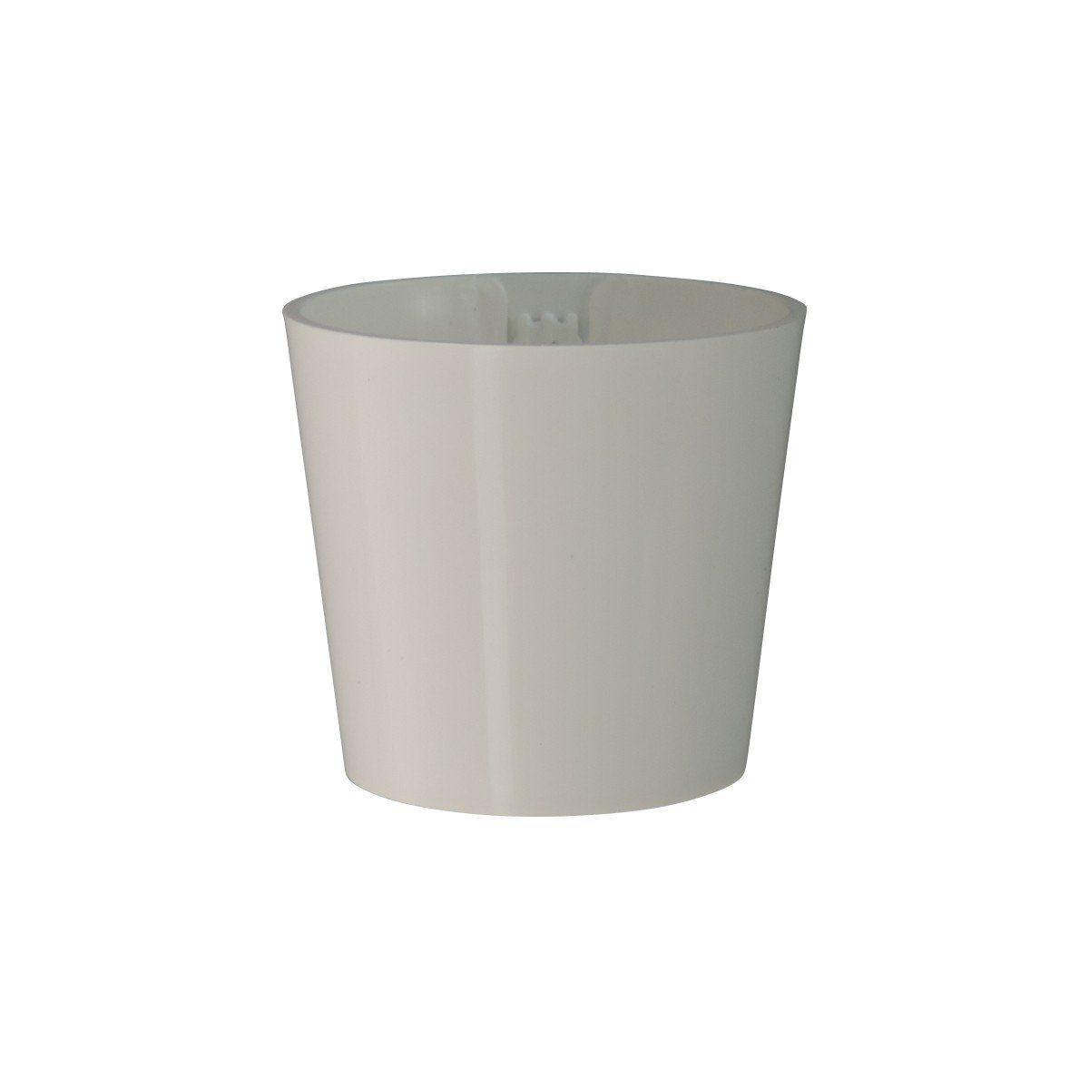 Vaso Magnético de Plástico Branco 5cm x 6cm
