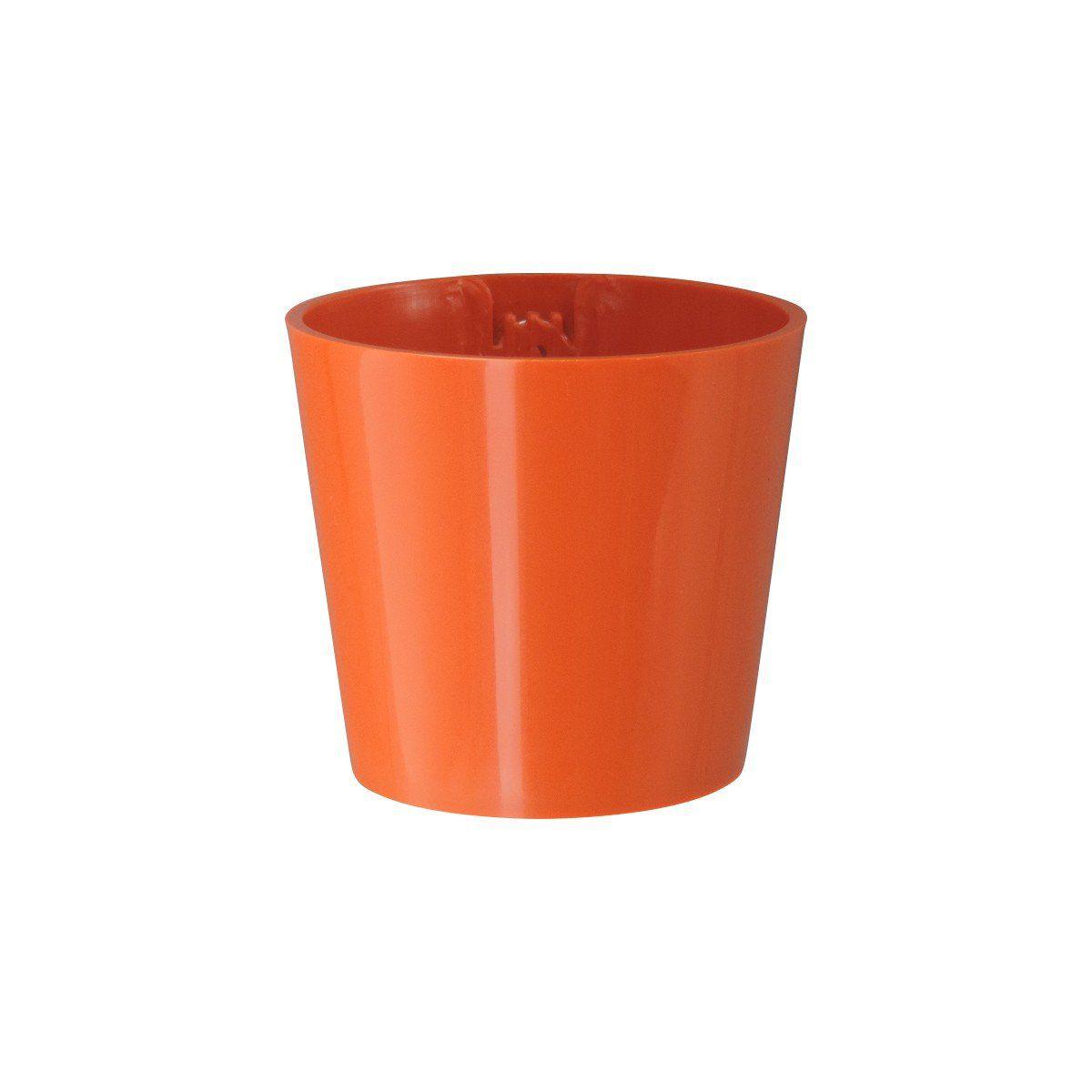 Vaso Magnético de Plástico Laranja 5cm x 6cm