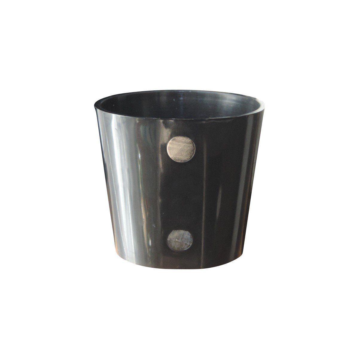Vaso Magnético de Plástico Preto 5cm x 6cm