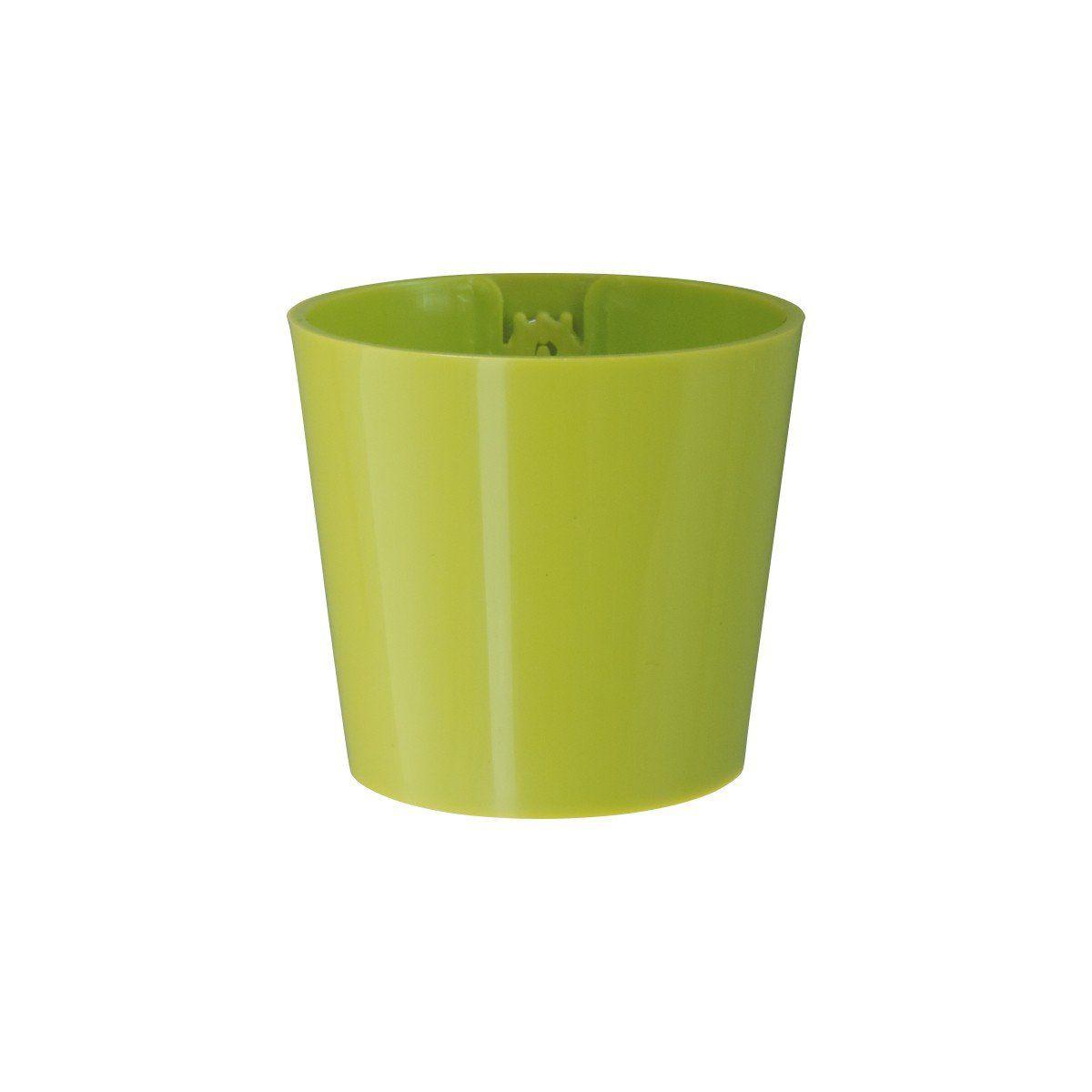 Vaso Magnético de Plástico Verde Limão 5cm x 6cm