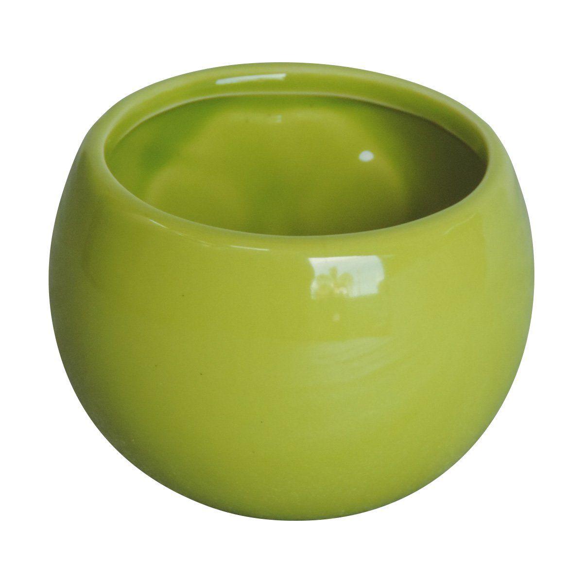 Vaso Magnético Verde Limão 6,5cm x 6,5cm