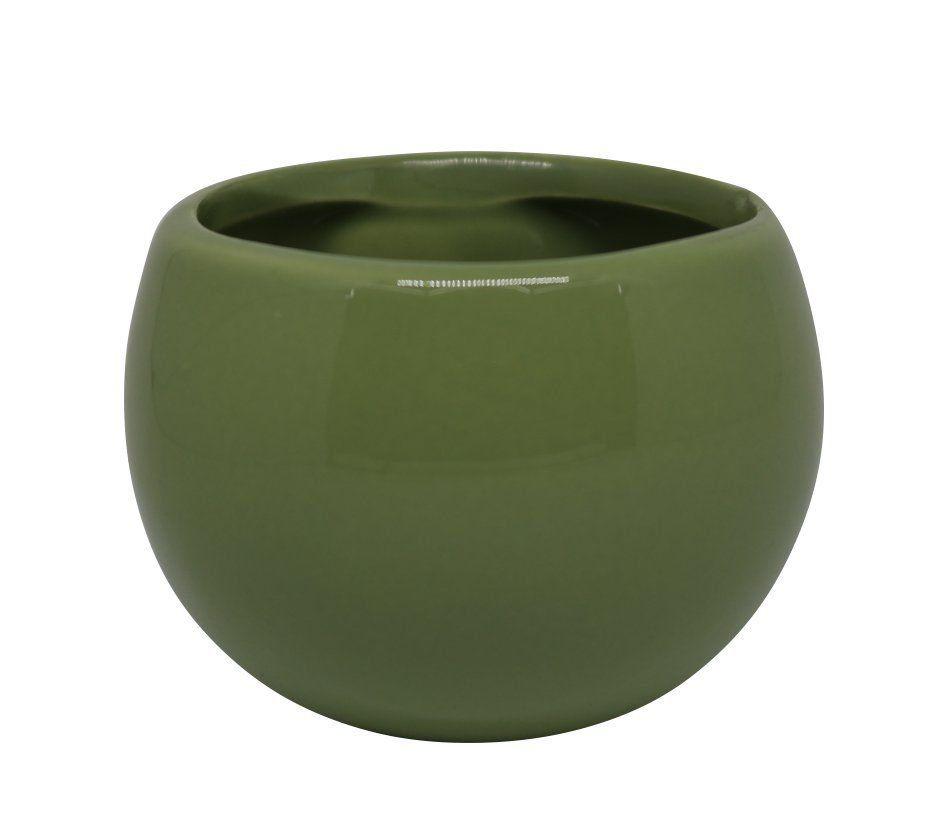 Vaso Magnético Verde Musgo 6,5 cm x 6,5 cm