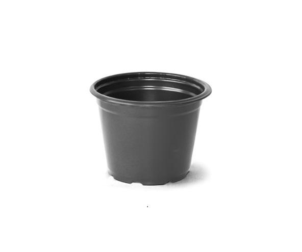 Vaso para Plantas 2,5 Preto 11cm x 14,5cm