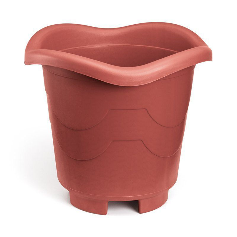 Vaso para Plantas Redondo Extra Grande Telha 50cm x 40cm