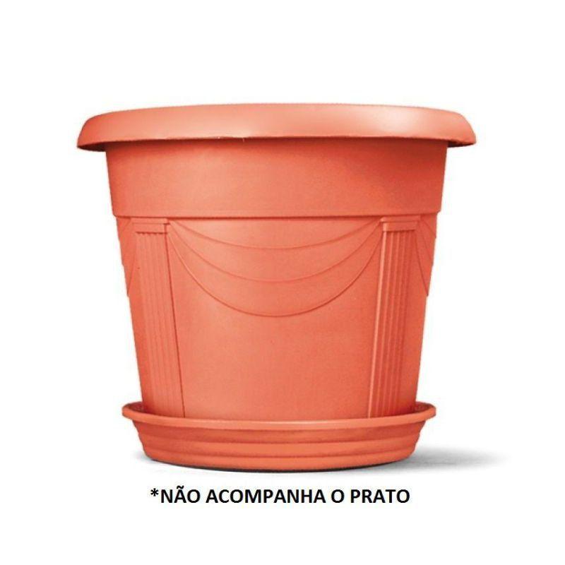 Vaso para plantas Romano 04 Cor Cerâmica 35cm x 46cm
