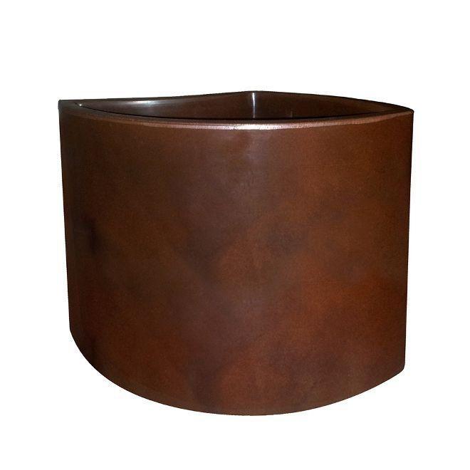 Vaso Pétala 25cm x 30cm Rusty