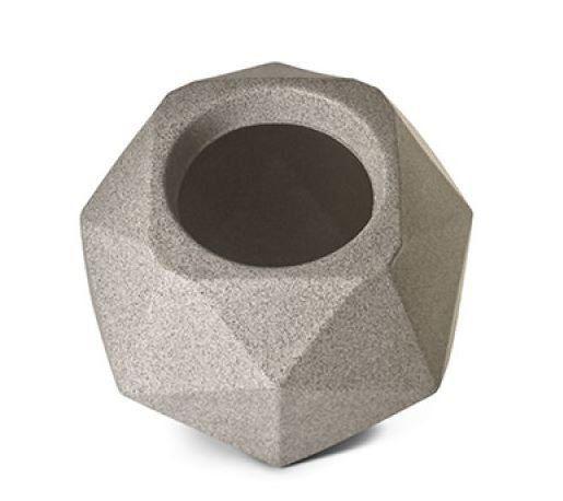 Vaso Quartzo 11 Granito 11cm x 15cm